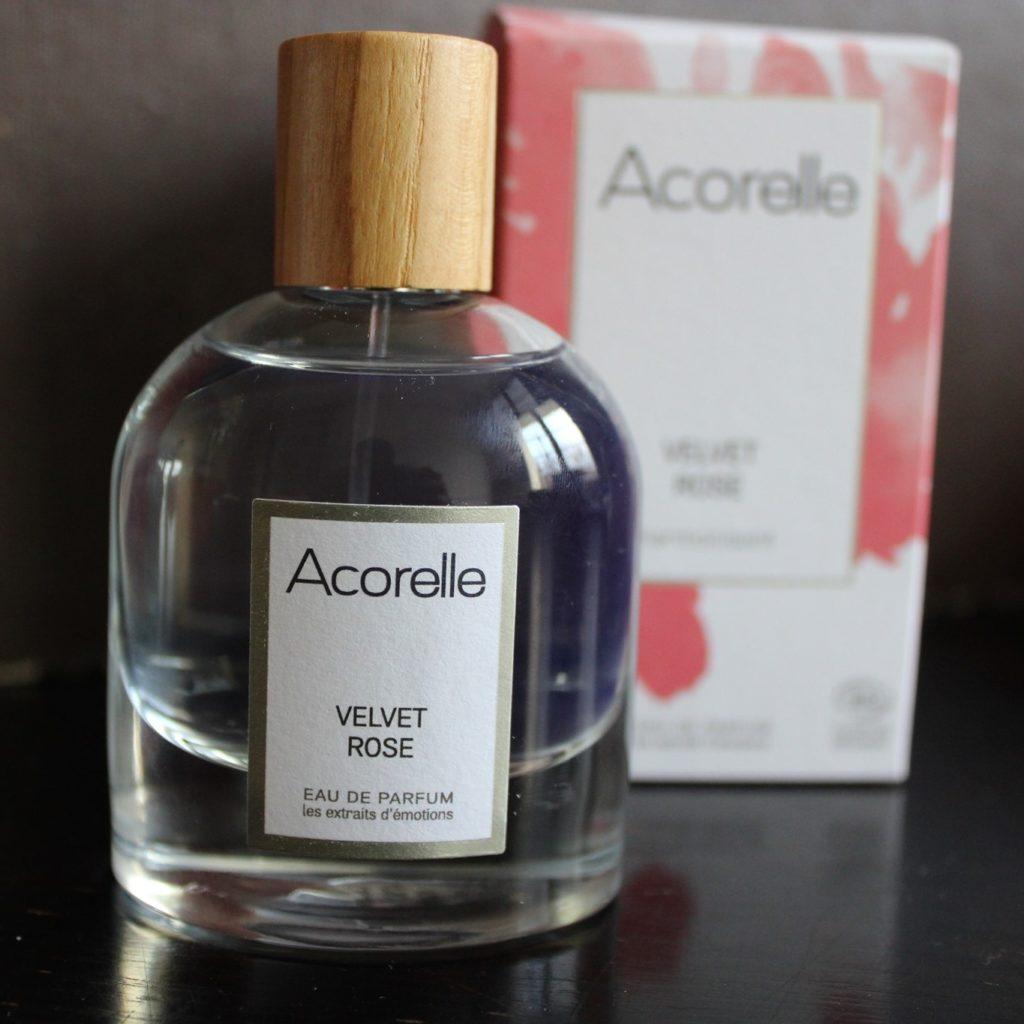 Acorelle velvet rose parfum naturel
